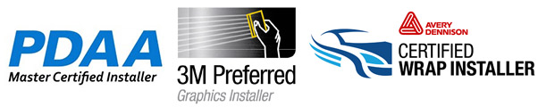 PDAA master certified 3M preffered graphics installer